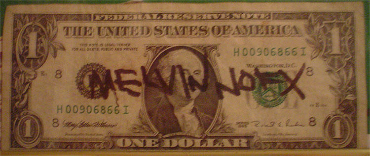 Autographed Dollar